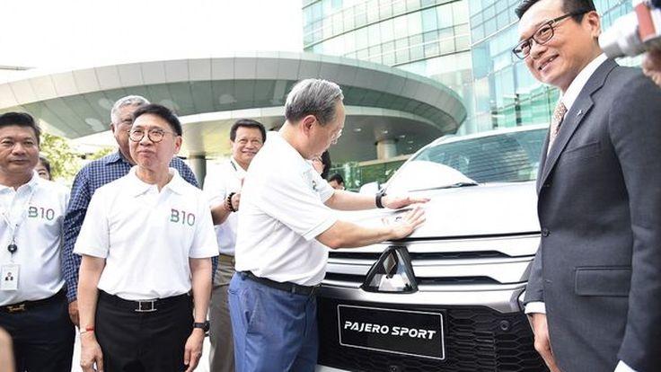 มิตซูบิชิ มอเตอร์ส ประเทศไทย ร่วมส่งเสริมการใช้น้ำมันดีเซล บี10