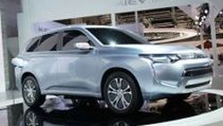 Mitsubishi Concept PX-MiEV II Plug-In Hybrid สะท้อนดีไซน์ Outlander ตัวใหม่