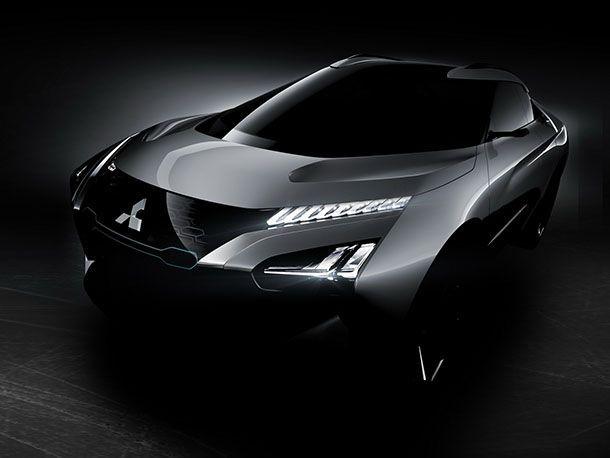 Mitsubishi เผยภาพด้านหน้า e-Evolution Concept จ่อเปิดตัวที่โตเกียว