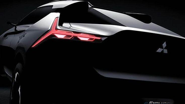 Mitsubishi ปล่อยทีเซอร์ e-Evolution รถครอสโอเวอร์ต้นแบบพลังงานไฟฟ้า