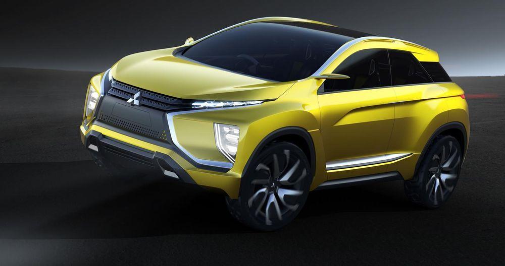 มิตซูบิชิ อีเอ็กซ์ รถครอสโอเวอร์คอมแพกต์โชว์ระบบพลังไฟฟ้าเจนเนอเรชั่นใหม่