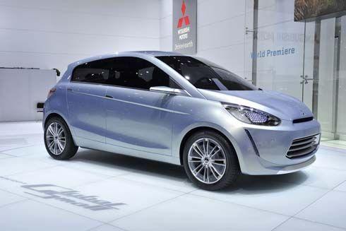Mitsubishi Global Small รถต้นแบบว่าที่อีโคคาร์รายที่ 3 มาแน่ที่ Bangkok Motor Show