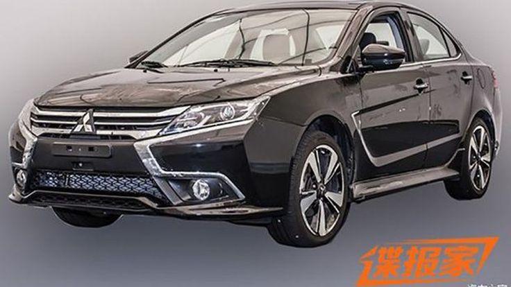 Mitsubishi Lancer ปรับโฉมใหม่ทำตลาดเมืองจีน