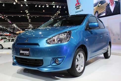 Mitsubishi Mirage คว้ารางวัล Eco Car ยอดเยี่ยมจาก TAQA Award ประจำปี 2556