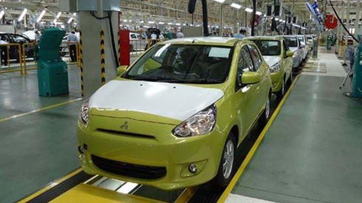 Mitsubishi เริ่มผลิต Mirage จัดงานเปิดสายพานการผลิตในประเทศไทยอย่างเป็นทางการ