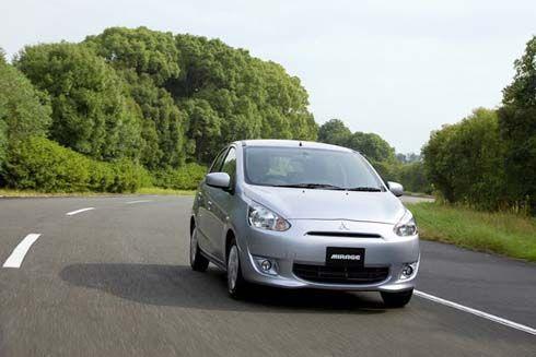 Mitsubishi Mirage ปี 2013 เวอร์ชั่นญี่ปุ่น เครื่อง 1.0 ลิตร จ่อขายสิ้นเดือนนี้