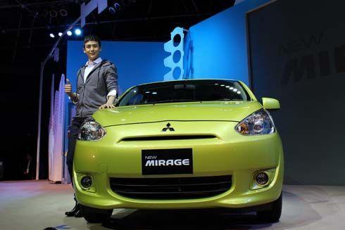 สเปคและราคา Mitsubishi Mirage 2012-2013 มิตซูบิชิ มิราจ