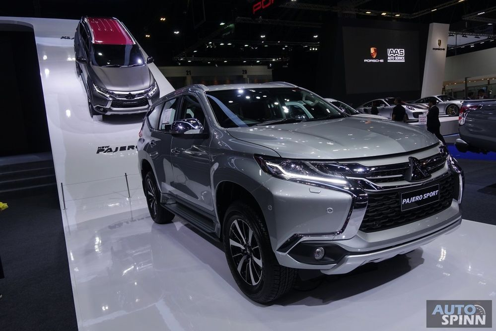 [BIMS2018] เปิดตัว Mitsubishi Pajero Sport Limited Edition ออพชั่นแน่นมากขึ้น เคาะราคา 1.424 ล้านบาท