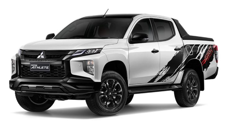 Mitsubishi Triton ATHLETE  มีอะไรใหม่บ้าง 3 สีให้เลือก