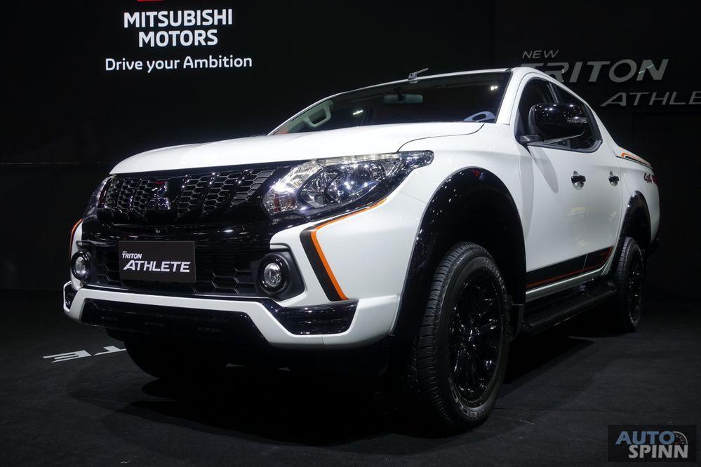 TIME2017: พาชม Mitsubishi Triton Athlete จัดใหญ่หล่อจากโรงงาน เคาะค่าตัวเริ่มต้น 8.79 แสนบาท