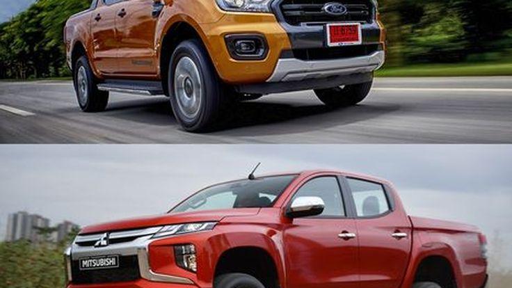 ศึกกระบะส่งท้ายปี Mitsubishi Triton และ Ford Ranger มวยถูกคู่