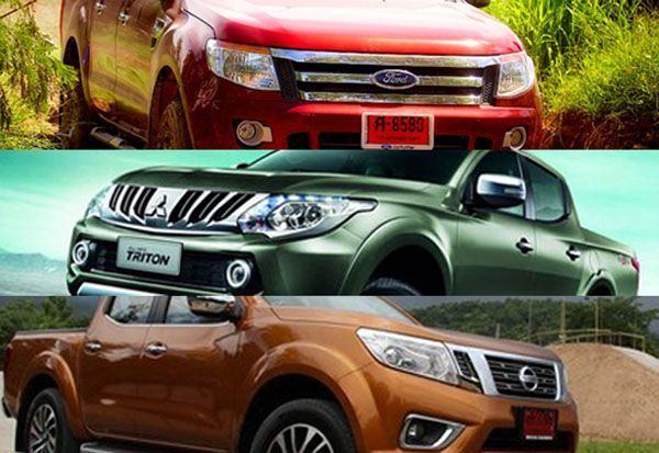 พิสูจน์ความแกร่งกระบะมวยรอง Mitsubishi Triton / Nissan Navara / Ford Ranger