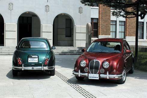 Mitsuoka Viewt คลาสสิคในแบบ Jaguar Mark II ใช้พื้นฐานของ Nissan Micra