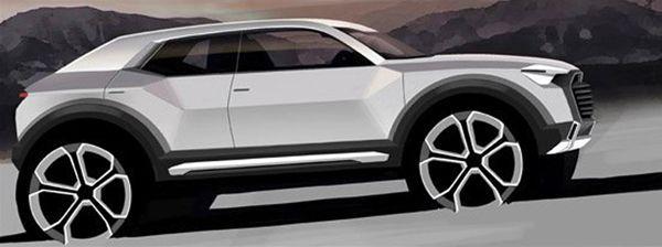 เปิดรายละเอียดเพิ่มเติม Audi Q1 เผยโฉมแน่ปี 2016