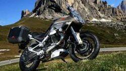 Moto Guzzi Stelvio 1200 4V NTX มอเตอร์ไซค์ท่องเที่ยวสุดหรู กับเครื่องยนต์ใหม่ Quattrovalvole