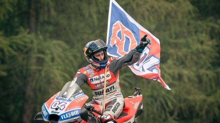 [MotoGP] ทีมโรงงานดูคาติควงคู่คว้าชัยสนาม 10 ด้านบียาเลสควงเพื่อนอีก 2 นอนบ่อกรวดตั้งแต่รอบแรก
