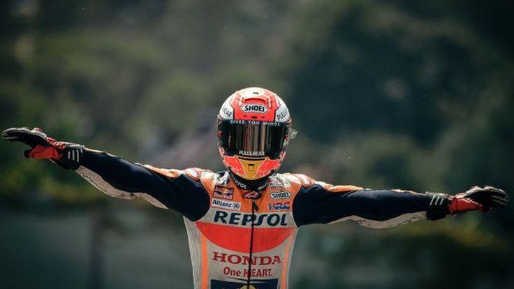 [MotoGP] มาเกซเก็บแชมป์สนามเยอรมัน 9 ปีติดต่อกัน รอสซี บียาเลสเข้าวินคู่