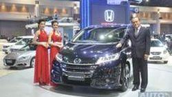 [Motor Expo 2013] เปิดตัว Honda Odyssey  เจนเนอเรชั่นใหม่  MPV หรู ระดับ 1st Class