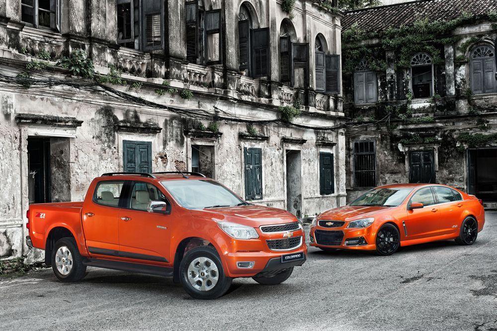[Motor Expo 2013] Chevrolet เผยโฉมยานยนต์รุ่นล่าสุด SS Concept และ Colorado และ Trailblazer