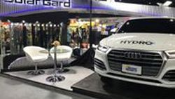 "[Motor Expo] SOLAR GARD เปิดตัวผลิตภัณฑ์ใหม่    ฟิล์มใสแร๊ปรถกันหินกระแทก ""Clear Shield Pro Hydro"" ราคา 140,000 บาท"