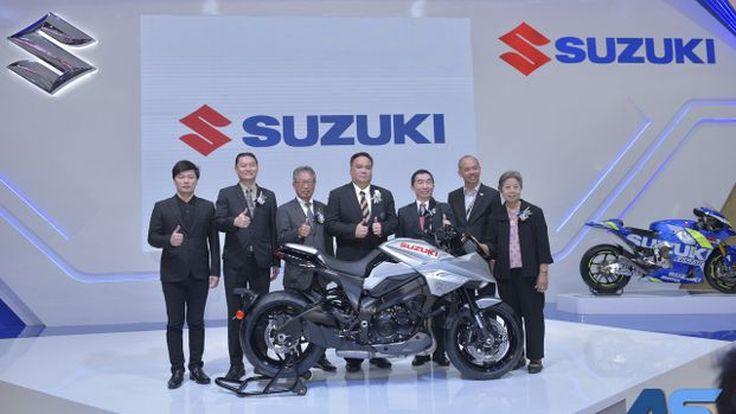 [BIMS2019] Suzuki ชวนสัมผัสนวัตกรรมระดับพรีเมี่ยมที่งานมอเตอร์โชว์ พร้อมเปิดตัว Suzuki Katana, Burgman 400 และ Bandit 150
