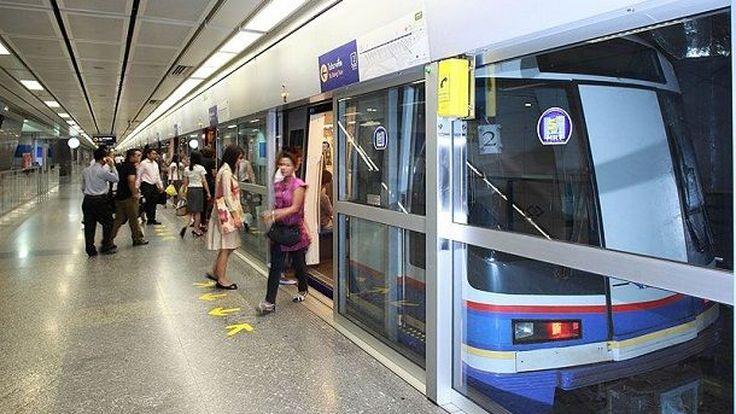 รถไฟใต้ดินขัดข้องลดระยะเหลือ บางซื่อ-สีลม งดบริการสถานีสามย่านและหัวลำโพงชั่วคราว