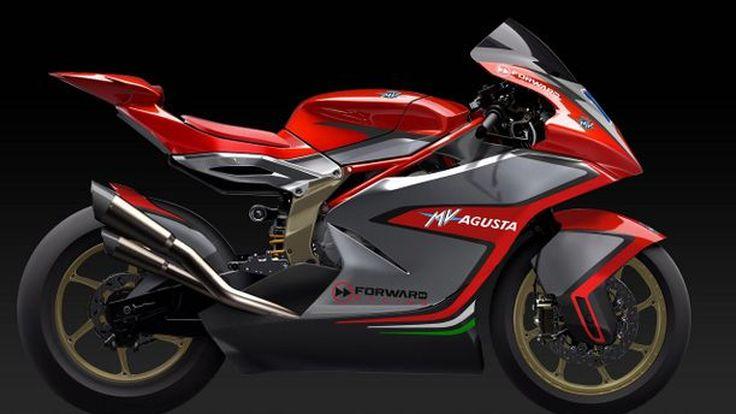 MV Agusta เปิดภาพรถแข่งพร้อมกลับไปลุยรายการ Moto2 แล้ว
