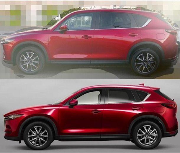หลุดภาพ 2017 Mazda CX-8 รถเอสยูวี 7 ที่นั่งรุ่นใหม่