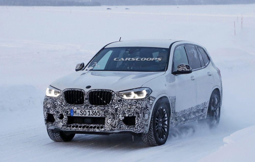 New BMW X3M กับภาพหลุดที่ชัดเจนยิ่งขึ้น