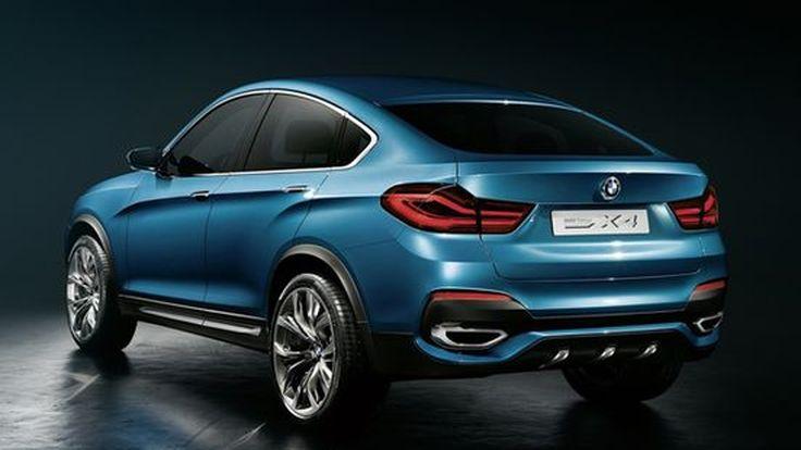 เปิดข้อมูลเพิ่มเติมพร้อมวีดีโอ BMW X4 เอสยูวีต้นแบบ ขายจริงปีหน้า