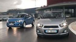 เปิดภาพ Chevrolet Aveo รุ่นปี 2012 เวอร์ชั่นยุโรป ทั้งสไตล์ Hatchback และ Sedan