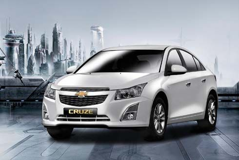 เปิดตัว Chevrolet Cruze โฉมใหม่ปี 2013 ที่งาน 2012 Busan Auto Show