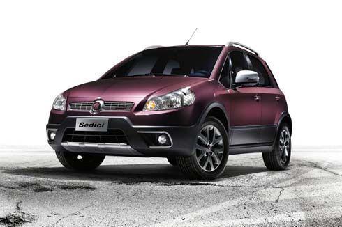 ใหม่ Fiat Sedici รุ่นปี 2012 อัพเดทเล็กๆน้อยๆ ทั้งภายนอกและภายใน