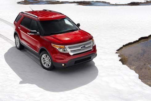 Ford Explorer โฉมใหม่ปี 2012 พร้อมเครื่องยนต์ EcoBoost ประหยัดกว่าใครในคลาส!