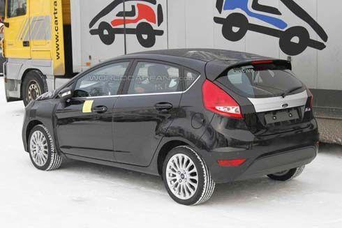 แอบดู Ford Fiesta รุ่นไมเนอร์เชนจ์ ปี 2012/2013 ติดขุมพลัง EcoBoost ฝังไฟวิ่ง LED