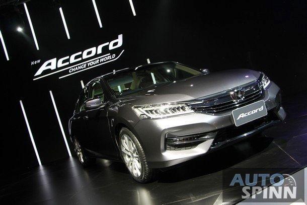 [Gallery] งานเปิดตัว 2016 Honda Accord ยังหล่อเหมือนเดิม เพิ่มเติมที่ความหรูหรา