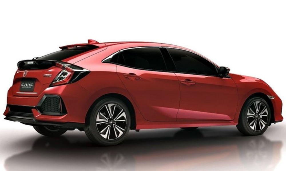 Honda เตรียมส่ง Civic Hatchback Rallye RED ลุย Motor Show 2018 เคาะราคา 1.169 ล้านบาท