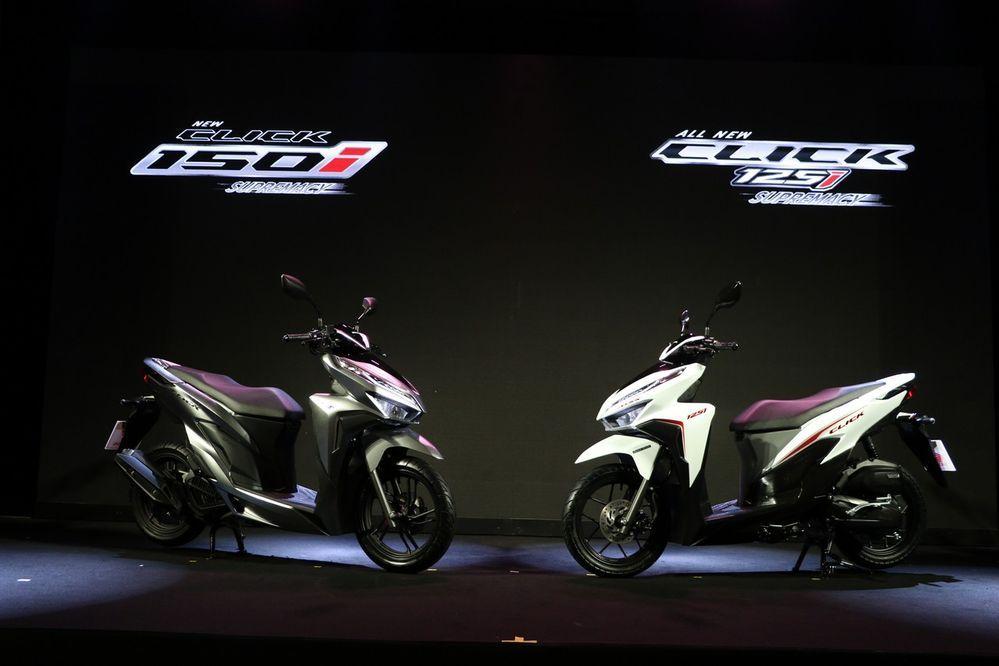 เปิดตัว New Honda Click 150i และ All New Click 125i โฉมใหม่ล่าสุด พร้อมราคาเปิดตัว