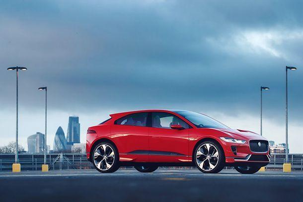 มาอีกรอบ Jaguar I-PACE รถต้นแบบคราวนี้สีแดงร้อนแรงยิ่งขึ้น