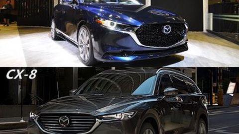 Mazda ประกาศปี 2019 เปิดตัวรุ่นใหม่ 6 รุ่น ที่น่าจับตา New Mazda 3  – New Mazda CX-8