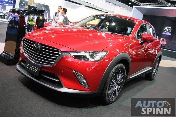 [BMIS2017] Mazda CX-3 รุ่นเพิ่มออพชั่นใหม่ ปรับปรุงรูปลักษณ์เล็กๆ เคาะราคาเริ่มต้น 8.35 แสนบาท