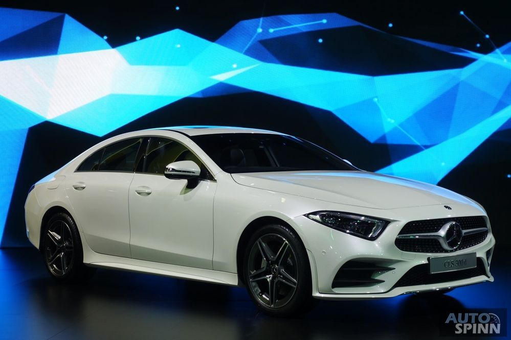 [BIMS2018] Mercedes-Benz CLS300d ซีดานหรูรุ่นใหม่ โฉบเฉี่ยว สปอร์ตมากขึ้น เคาะราคา 4.98 ล้านบาท