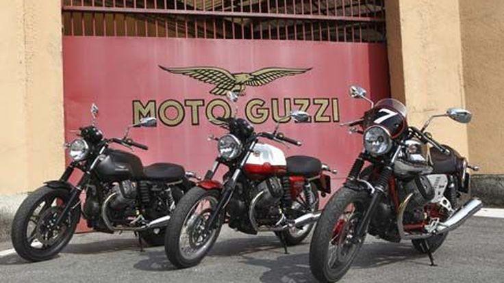 เผยโฉม Moto Guzzi V7 รุ่นปี 2013 มอเตอร์ไซค์ไลน์ใหม่สไตล์อิตาเลียนคลาสสิก