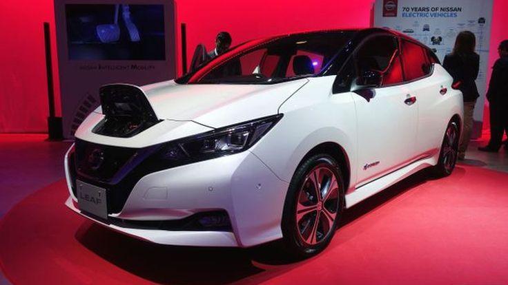 คอนเฟิร์ม! Nissan เตรียมส่ง Leaf ลุยตลาด EV ในไทย ไม่เกินปีงบประมาณหน้า