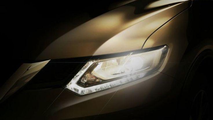 ทีเซอร์แรก All-New Nissan X-Trail สลัดภาพรถทรงเหลี่ยม เติมความโค้งมน