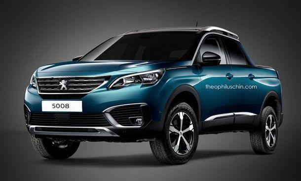 สวยไหม ? ภาพการออกแบบอย่างไม่เป็นทางการกับ Peugeot 5008 ในเวอร์ชั่นปิคอัพรุ่นใหม่ล่าสุด