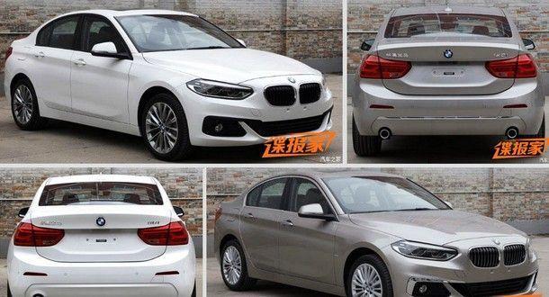 ชมภาพ BMW 1-Series ตัวถังซีดาน ที่มาพร้อมพลัง 231 แรงม้า จากประเทศจีน