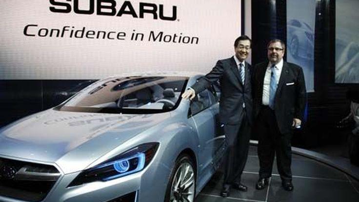Subaru ปฏิวัติโฉมใหม่ให้ Impreza ออกงานโชว์ตัว ดูกระแสตอบรับที่ LA Auto Show