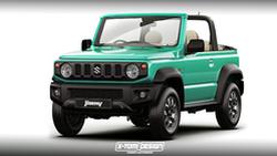 ยลโฉม New Suzuki Jimny แบบเปิดประทุน