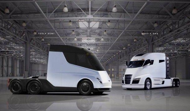 เอาจริง !! ชมภาพการออกแบบ Tesla Semi-Truck รถบรรทุกขนาดเล็กพลังไฟฟ้ารุ่นแรกของค่าย